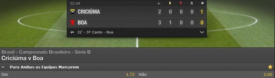 Criciuma vs Boa Esporte