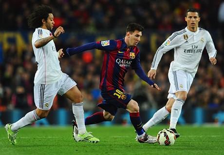 Lionel Messi enfrenta armada merengue