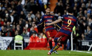 Neymar e Luis Suárez voltaram a ser fundamentais na vitória do Barça