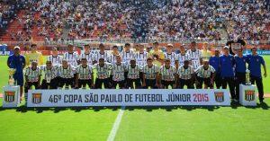 Corinthians campeão da Copa SP Jr em 2015