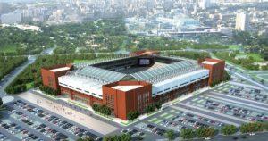 """Estádio """"tianjin tuanbo football"""" do Clube Tianjin Quanjian"""
