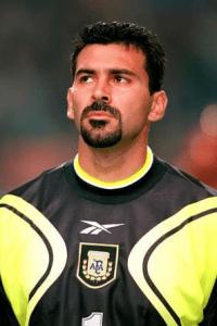 Carlos Roa, ex-goleiro titular da seleção Argentina.