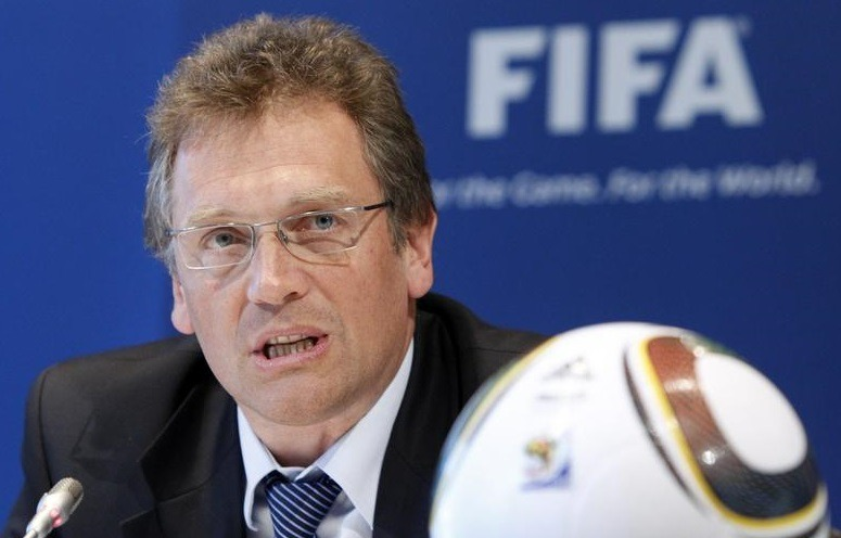 Fim da carreira de Jérôme Valcke na FIFA