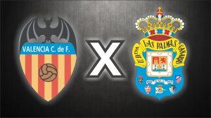 Valência x Las Palmas, uma das disputas das quartas de final.