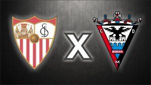 Sevilla FC x CD Mirandés, uma das disputas das quartas de final.