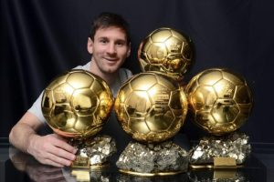 Messi já possui quatro Taças