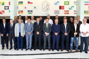 A CBF realizou o 1º Encontro de Técnicos da Série A, no Rio de Janeiro