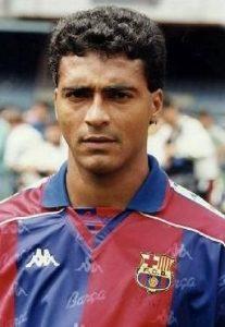 Romário atuando pelo Barcelona
