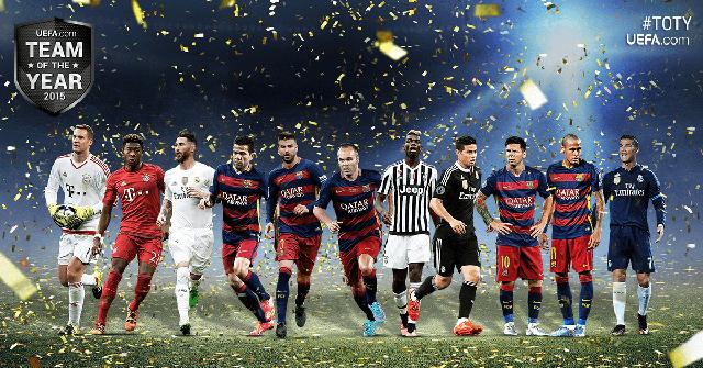 Equipe do Ano UEFA 2015