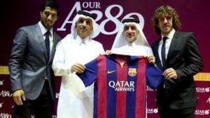 Ali Shareef Al Emadi e Akbar Al Baker da Qatar Airways.
