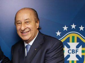 O então presidente da CBF Del Nero foi inicialmente contra a Primeira Liga