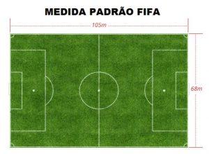 Medida exigida pela CBF é a mesma usada pela FIFA na Copa de 2014