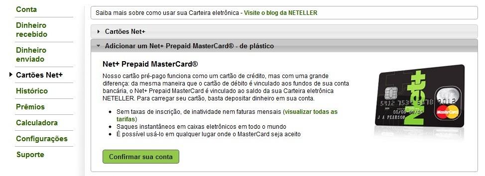 Net+ Mastercard Neteller
