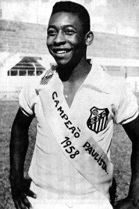 Pelé marcou 58 gols no Paulista de 1958, feito nunca superado.