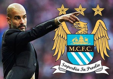 Pep Guardiola no Manchester City