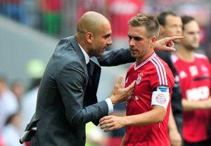 Pep Guardiola tem sido fundamental no sucesso do Bayern