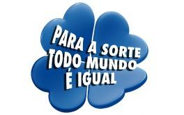 Mais uma propaganda da loteria brasileira