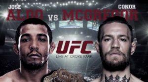 Luta do UFC 194 realizada em dezembro de 2015.