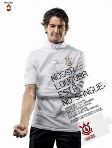 """Alexandre Pato na campanha """"Nossa loucura esta no sangue"""""""