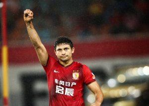 Elkeson trocou o Guangzhou pelo Shangai SIPG.