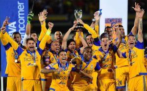 Time do Tigres, atual campeão do Apertura 2015.