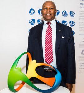 Kipchoge Keino, presidente do Comitê Olímpico do Quênia.