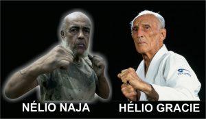 Lendários Nélio Naja e Hélio Gracie, precursores do UFC.