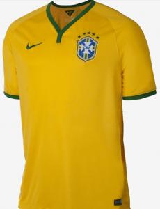 Camisa da seleção na Copa de 2014