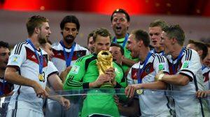 Manuel Neuer, goleiro da Alemanha Campeã da Copa do Mundo de 2014.