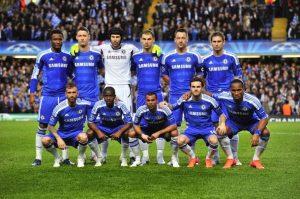 Chelsea campeão da UEFA Champions League (2011-12).