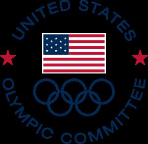 Símbolo do Comitê Olímpico dos Estados Unidos (USOC).
