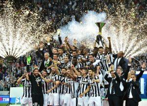 Juventus tetracampeão italiano (2014-15)