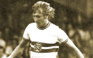 """Flecha Loira"" jogou no Coritiba de 1966 a 1975"