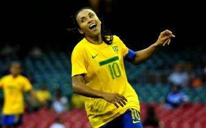 A capitã da seleção brasileira pensa em aposentadoria.