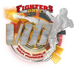 Logo do World MMA Awards 2016, que é promovida pela da revista Fighters Only.