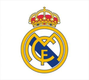 Escudo do Real Madrid, clube mais rico do mundo.