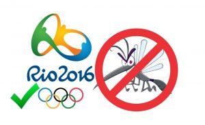 """Governo brasileiro garante realização das Olímpiadas e está tentando acabar com o mosquito que transmite o """"vírus Zika""""."""