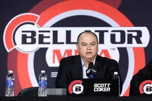 Presidente do Bellator MMA, Scott Coker.