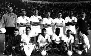 Valencia, campeão da Taça das Feiras de 1963.