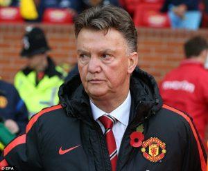 Manchester United está insatisfeito com Louis van Gaal.