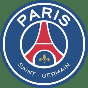 Atual escudo do clube Paris Saint Germain.