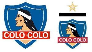 Escudos do clube Colo-Colo.