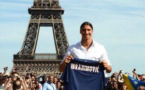 Ibrahimovic é contratado pelo PSG