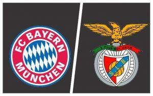 Bayern de Munique (Alemanha) e Benfica (Portugal)