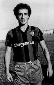 Rafa Benítez jogador do Parla. Temporada 1981/82.