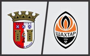 Escudos: Braga (Portugal) e Shakhtar Donetsk (Ucrânia).