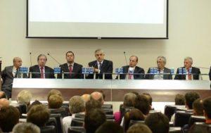 Conselho Deliberativo do Clube Atlético PR (Petraglia no centro).