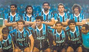 Cuca, Tri-campeão pelo Grêmio.