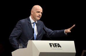 Gianni Infantino, atual presidente da FIFA.