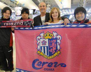 Levir Culpi como técnico do Cerezo Ozaka do Japão.